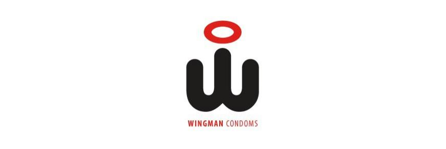 Condom with applicator Wingman